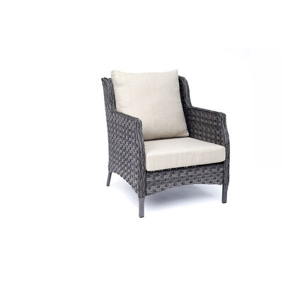Living Accents Gray Steel Brookhaven Chair