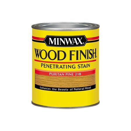 Minwax Wood Finish Semi-Transparent Puritan Pine Oil-Based Wood Stain 1 qt.