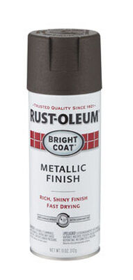 Rust-Oleum Stops Rust Dark Bronze Bright Coat Metallic Spray 11 oz.