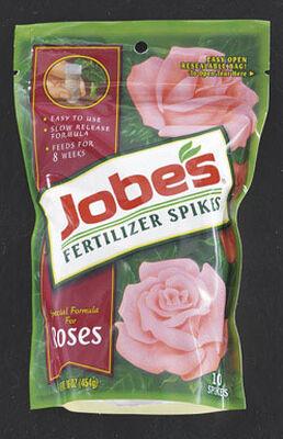 Jobe's Fertilizer Spikes For Rose Blooms 10 pk