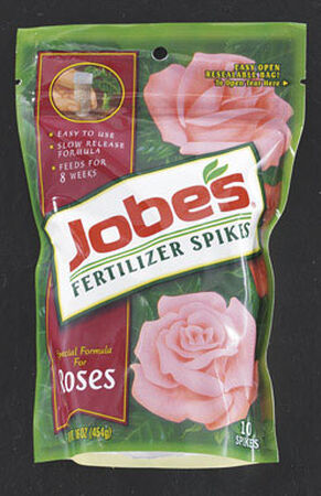 Jobe's Fertilizer Spikes For Rose Blooms 10 pk