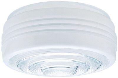 Westinghouse Glass 8-3/4 in. L x 4 in. H Glass Shades