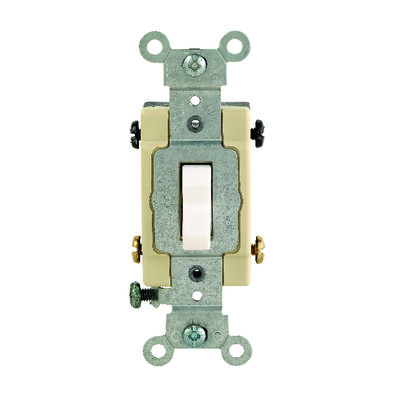 Leviton Commercial 20 amps Toggle 4-Way Switch Single Pole