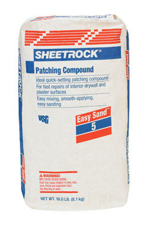 Sheetrock Light Weight Joint Compound 18 lb. Sand 5 min