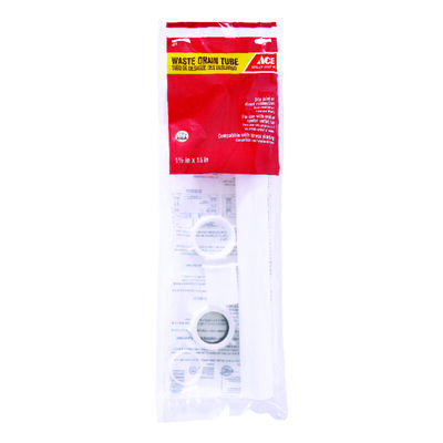 Ace 1-1/2 in. Dia. x 15 in. L Plastic Waste Arm