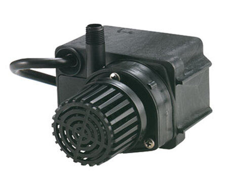 Little Giant Direct Drive Thermoplastic Pond Pump 1/4 hp 300 gph 115 volts