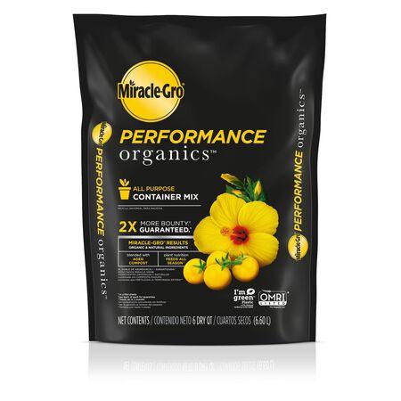 Miracle-Gro Performance Organics Organic Potting Mix 6 qt.