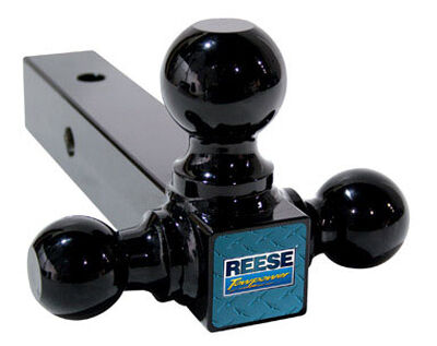 Reese Towpower Steel Medium Duty Tri-Ball Mount