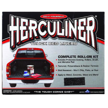 Herculiner Black Truck Bed Coating Kit 1 gal.