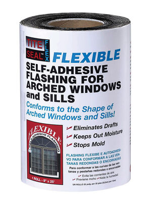Tite Seal Rubber Flexible Window Flashing Clear 4-1/2 in. H x 25 ft. L x 9 in. W Window Flashing