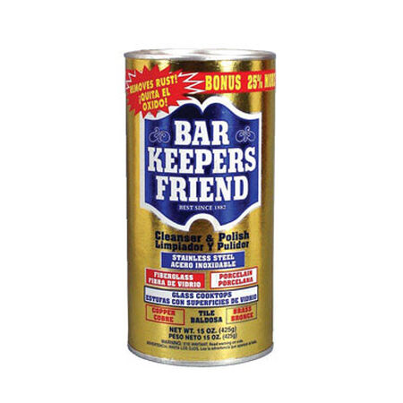 Bar Keepers Friend Stainless Steel Cleaner & Polish 15 oz.