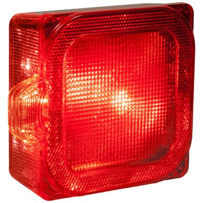 Peterson Combination Light Mounting Stop and Tail Light with License Light