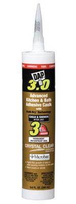DAP 3.0 Vinyl Sealant Crystal Clear 9 oz.