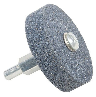 Forney 2 in. Dia. Aluminum Oxide 60 Grit Mounted Grinding Wheel