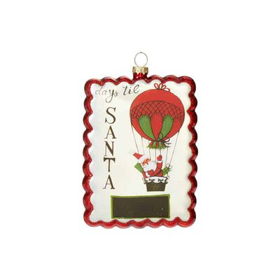 "5"" Advent Ornament"