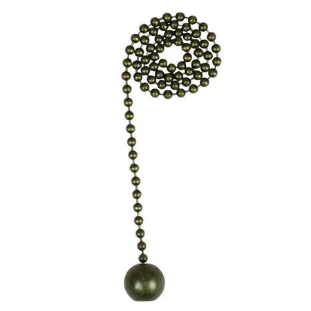 Jandorf Pull Chain Antique Brass 1 ft. L 1 pk