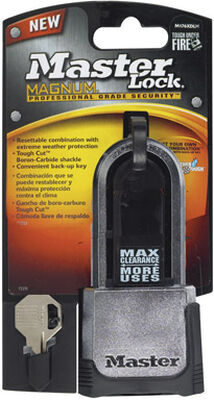 Master Lock 2 in. Dual Ball Bearing Locking Steel Padlock