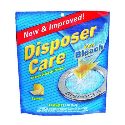 Disposer Care Pacs Garbage Disposal Cleaner 4 pk