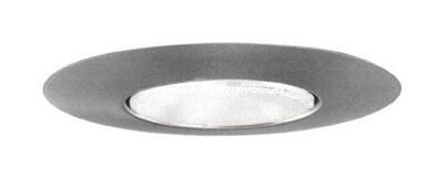 Halo 6 in. W Satin Nickel 6 in. Recessed Open Trim Light