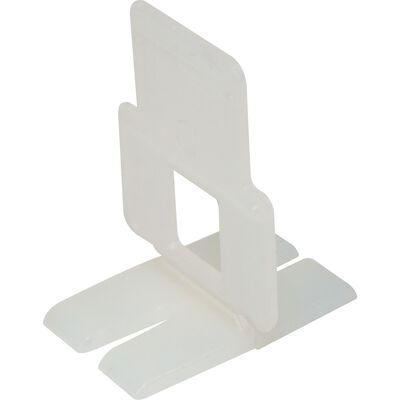 QEP 1 in. H x 1/16 in. W Plastic Tile Spacer Clips 300 pk