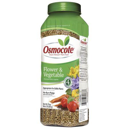 Osmocote Plant Food For Flowers Vegetables 2 lb.