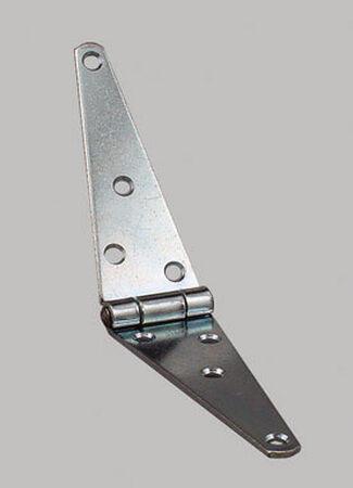 Ace Steel Heavy Duty Strap Hinge 6 in. L Zinc 1 pk