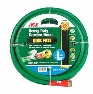Ace Pressure Master 5/8 in. Dia. x 25 ft. L Garden Hose Kink Resistant