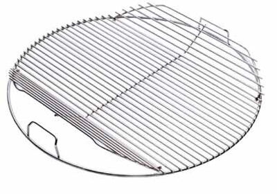 Weber Hinged Plated Steel Grill Cooking Grate 2 in. H x 17-1/2 in. W x 19-1/2 in. D
