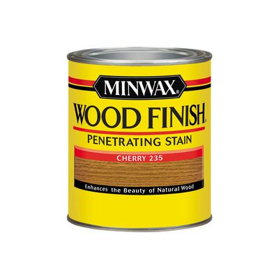Minwax Wood Finish Transparent Oil-Based Wood Stain Cherry 1 qt.