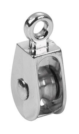 Campbell Chain Single Eye Pulley 1 in. Rigid 55 lb. Copper