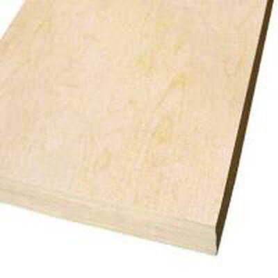 "Russian Birch plywood 9 ply 5' x 5' x 1/2"""