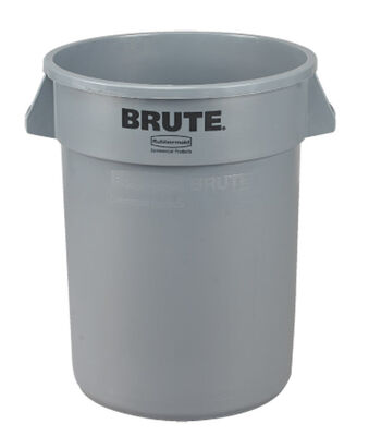 Rubbermaid BRUTE 32 gal. Plastic Garbage Can