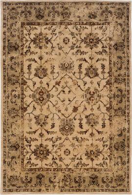 """Oriental Weavers 1376E Casablanca Ivory 7'10"""" X 10'10"""" Area Rug"""