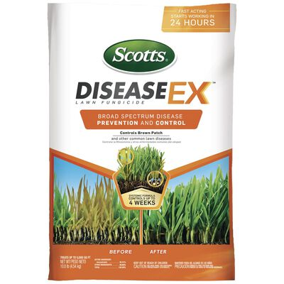 Scotts Disease EX Lawn Fungicide Spring/Summer/Fall All Grass Types 5000 sq. ft. Granular