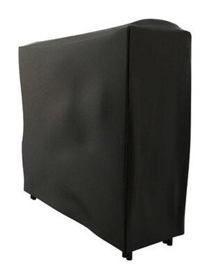 Panacea Black Vinyl Log Rack Cover Indoor and Outdoor