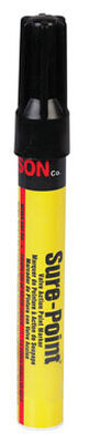 C.H. Hanson Sure-Point Black Valve Tip Paint Marker 1 pk