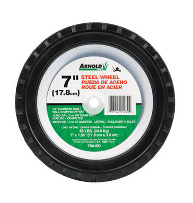 Arnold Steel Replacement Wheel 7 in. Dia. x 1.5 in. W 55 lb.