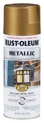 Rust-Oleum Stops Rust Champagne Bronze Metallic Spray Paint 11 oz.