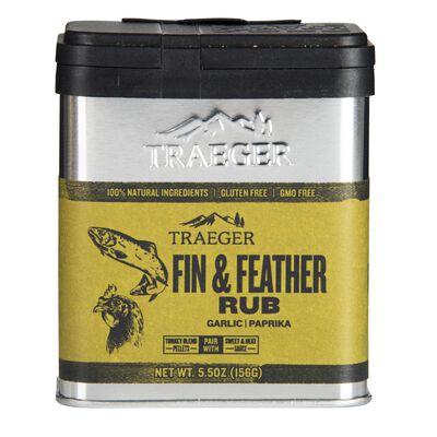 Traeger Fin & Feather Garlic and Paprika Seasoning Rub 5.5 oz.