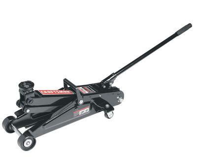Craftsman Manual Automotive Floor Jack 2-1/4 ton Black