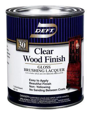 Deft Clear Wood Finish Gloss 1 qt.