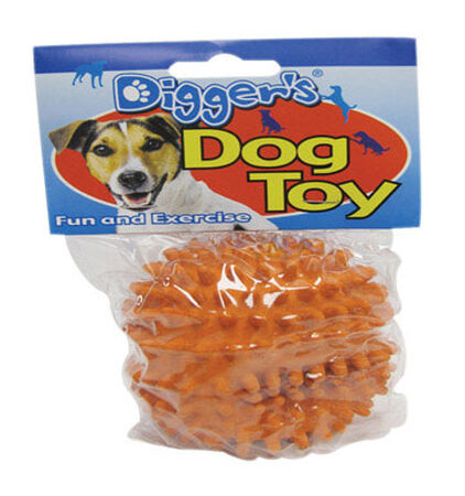 Digger's For Dog Spiked Spiked Ball Dog Toy