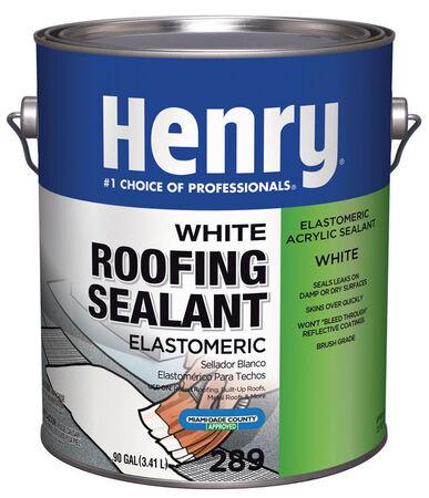 Henry Elastomeric Acrylic Roofing Sealant .90 gal. White
