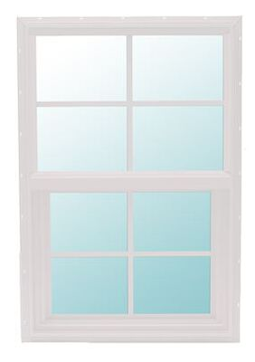 Window 2ft 0in X 5ft 0in 4/4 S96 White E-low
