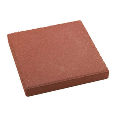 Step Stone Square Red 12""
