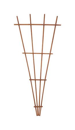 Panacea Brown Wood Trellis 72 in. H x 32 in. L x 1-1/2 in. W