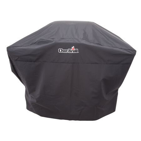 Char-Broil Black Grill Cover For 2 burner gas grills- medium charcoal grills and smokers up to 52