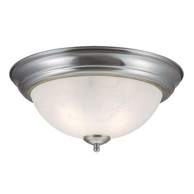 Millbridge 2-Light Ceiling Light, Satin Nickel #511550