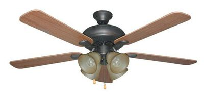 "Ellington Piedmont - 52"" Dual Mount Ceiling Fan"
