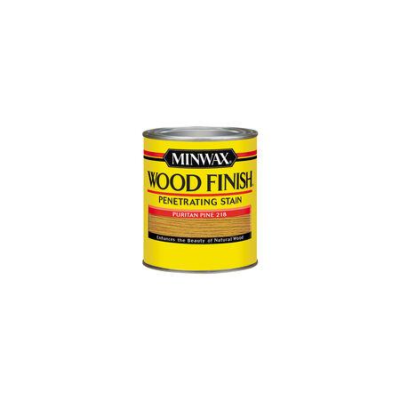 Minwax Wood Finish Semi-Transparent Puritan Pine Oil-Based Wood Stain 0.5 pt.